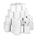 "PM Company Paper Rolls, One-Ply Teller Window/Financial, 3"" x 150 ft, White, 50/Carton"