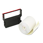 "PM Company Bulk Credit/Debit Printer Rolls for Verifone 900, 3"" x 90 ft., 10/Carton"
