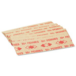PM Company Flat Paper Coin Wrappers for 50 Pennies, Red, 1000 Wrappers per Pack
