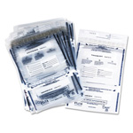 PM Company Plastic Disposable Deposit Bags, 11w x 15h, Tamper Evident