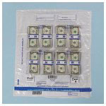 PM Company Plastic Currency Bundle Bags, 20 x 21 3/4, Clear, Holds 8 Bundles, 250 Bags/Ctn