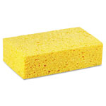Boardwalk Large Cellulose Sponge, 4 3/10 x 7 4/5, Yellow, 24/Carton