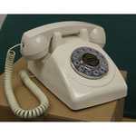 Paramount 1950 Desk Phone White