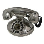 Paramount Collections Classic Christie 1921A Decorator Phone Silver