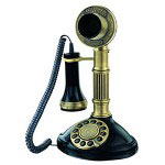 Paramount Collections Roman Column 1897 Reproduction Novelty Phone