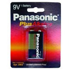Panasonic 6AM6-BP1 9 Volt Alkaline Battery 1 Pack