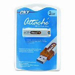 PNY Attaché USB 2.0 Flash Drive, 2GB