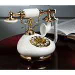 Golden Eagle Porcelain Phone