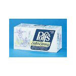 Puffs White 2-Ply Facial Tissue, Box of 216