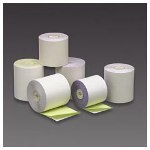 "PM Company Carbonless Duplicate Cash Register Rolls, 3""x90', White/Canary, 50 Rolls/Ctn"
