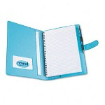 Paris Business Forms Reveal Notebook, 9 x 6, Dark Blue/Light Blue
