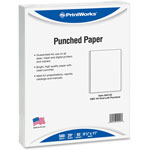 Printworks™ Professional Office Paper, GBC 44-Hole Punched, 8 1/2 x 11, 20-lb, 500/Ream
