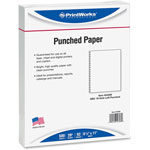 Paris Business Forms Bind Punched Cut Sheet Paper, 19 Hole GBC, 8 1/2 x 11