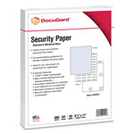 Paris Business Forms DocuGard Security Paper, Blue, 8-1/2 x 11