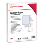 "Paris Business Forms Medical Security Paper, Advanced, 8-1/2"" x 11"", 500/RM, Blue"