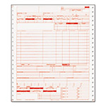 Paris Business Forms Hospital Insurance Forms, Continous Feed, 9 1/2 x 11, 2500 Forms