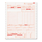Paris Business Forms Hospital Insurance Forms, 2 Part Continous White/Canary, 9 1/2 x 11, 1000 Forms