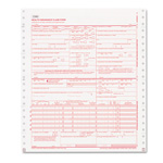 Paris Business Forms CMS Forms, 1 Part Continuous White, 9 1/2 x 11, 2500 Forms