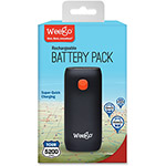 Weego Rechargeable Battery Pack Tour 5200, Black