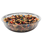 "Cambro Camwear Round Clear Pebbled Bowl, 8"" Diameter, Case of 12"