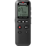 Philips Digital Voice Tracer 1150 Recorder, 2GB, Black