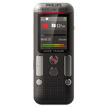 Philips Voice Tracer 2500 Digital Recorder, 4 GB, Black