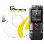 Philips Voice Tracer 2710 Digital Recorder with Speech Recognition Software, 8 GB