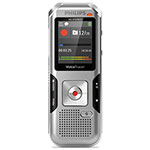 Philips Voice Tracer 4010 Digital Recorder, 8 GB, Silver