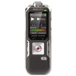 Philips Voice Tracer 6000 Digital Recorder, 4 GB Memory, Silver Shadow/Anthracite