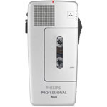 Philips Pocket Memo 488 Slide Switch Mini Cassette Dictation Recorder