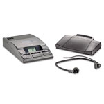 Philips 720-T Desktop Analog Mini Cassette Transcriber Dictation System