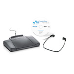Philips PC Transcription Kit with Visual Job Overview And Workflow Managements system