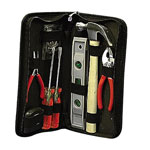 "Pyramid Office Tool Kit, Soft Sided case, 6""x2""x11 1/2"", Black"