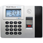 Pyramid Time/Attendance System, Battery Backup Memory, Gray/Black