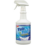 Spray Nine® Tub/Tile Cleaner, 32oz., Lemon/Lime Scent, 12/CT, CL
