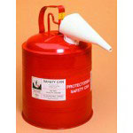 Protecto 5 Gallon Red Metal Gas Can