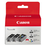 Canon PGI-35/CLI-36 Black Toner Cartridge Value Pack