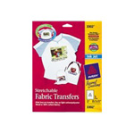 Avery Stretchable Fabric Transfers - Iron-on Transfers - 5 Sheet(s)