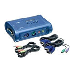 Trendnet-Consumer TK 208K - KVM / Audio Switch - 2 Ports