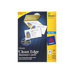 Avery Clean Edge - Glossy Photo Business Cards - 200 Card(s)