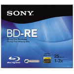 Sony BNE25RH - BD-RE X 1 - 25 GB - Storage Media