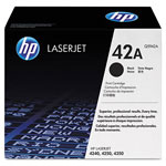 HP 42 Black Laser Toner, Model Q5942AG, 10000 Page Yield
