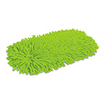 Quickie Green Cleaning Soft & Swivel Dust Mop Refill, Microfiber/Chenille, Green, Each
