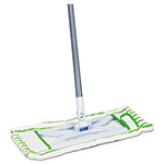 "Quickie HomePro Mighty Mop, 54"" Handle, 6 1/2 x 2 1/2 Frame, Green"