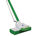 "Quickie Sponge Mop, 9"", 48"" Steel Handle"