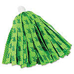 "Quickie Self Wringing Mop Head Refill, 11"", Green"