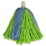 Quickie Cone Mop Supreme Refill, Green/Blue