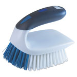 "Lysol 2-in-1 Iron Handle Brush, 2"" Bristles, 3"" Handle, White"