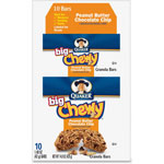 Quaker Foods Peanut Butter Chewy Granola Bar, 1.48oz., 10/BX, Multi