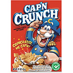 Quaker Foods Capn Crunch Sweetened Corn/Oat Cereal, .94oz, . 70/CT, Multi